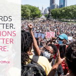 Words Matter. Actions Matter More.
